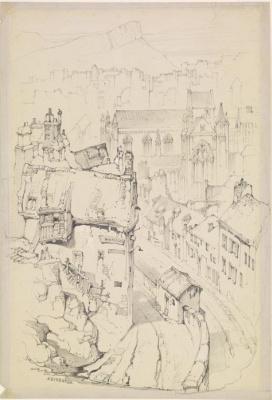 John Ruskin. Trinity College Chapel,