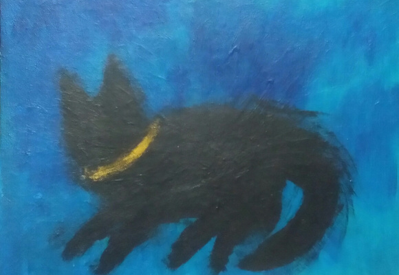 Полина Алексеевна Александрова. Black kitten