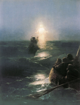Ivan Aivazovsky. Walking on water