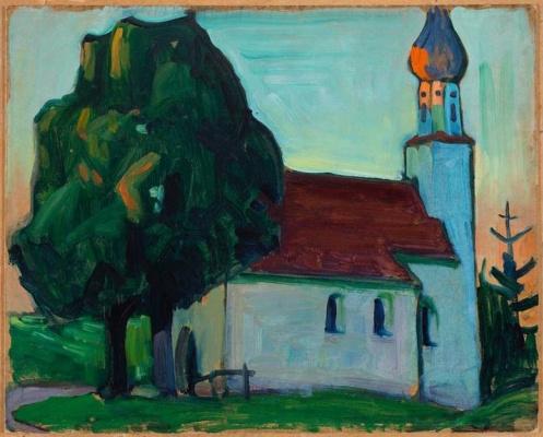 Габриель Мюнтер. Деревенская церковь