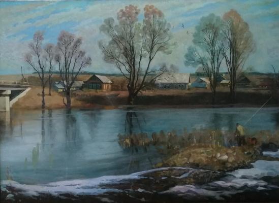 Nikolay Stepanovich Makushkin. Flood