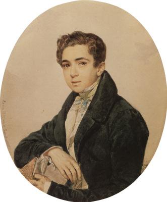 Karl Pavlovich Bryullov. Portrait of Prince G. G. Gagarin