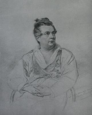 Карл Павлович Брюллов. Портрет И.П. Витали