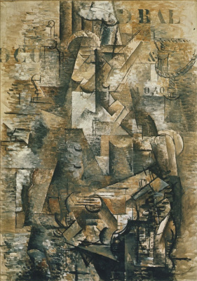 Georges Braque. The Portuguese