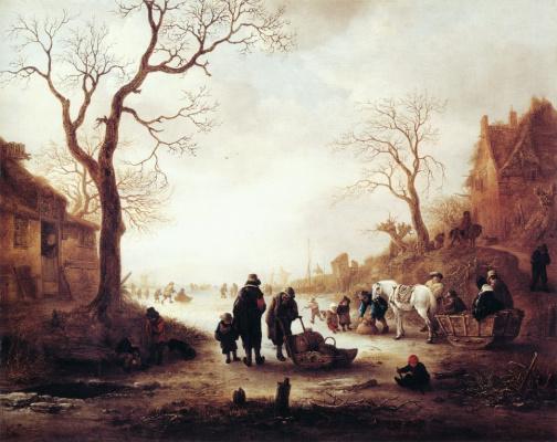 Исаак Янс ван Остад. Канал