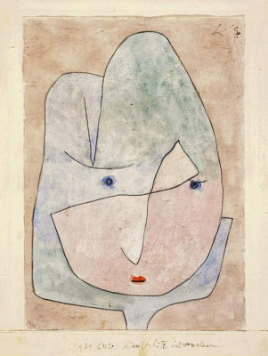 Paul Klee. The flower disappears