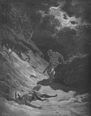 Поль Гюстав Доре. Каин и Авель