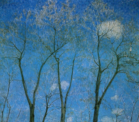 Mikhail Larionov. Acacia in spring