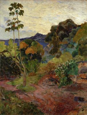 Paul Gauguin. Martinique Landscape