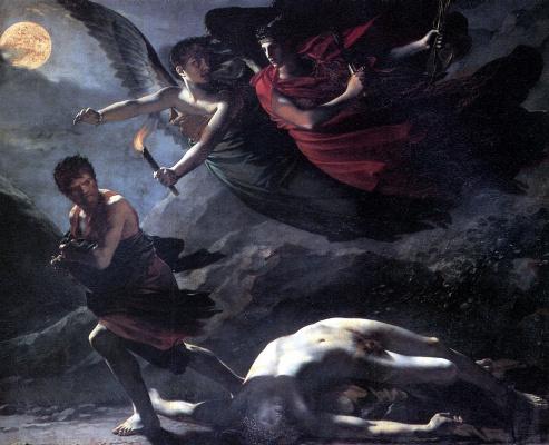 Пьер-Поль Прюдон. Справедливость и Божественное отмщение преследуют преступление