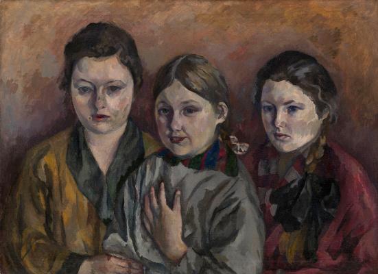 Васильевич Аристарх Лентулов. Семейный портрет.
