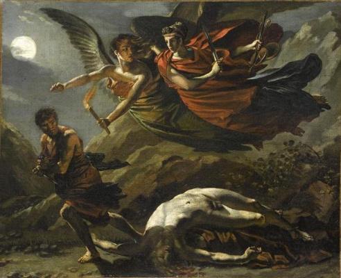 Théodore Géricault. Justice and Divine Vengeance Pursuing a Crime
