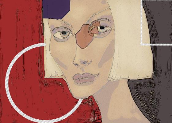 Maria Pavlovna Ortlib. Girl who loves books