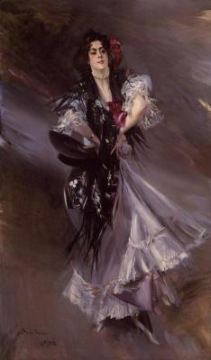 Giovanni Boldini. Portrait of Anita de la Feria, Spanish dancer