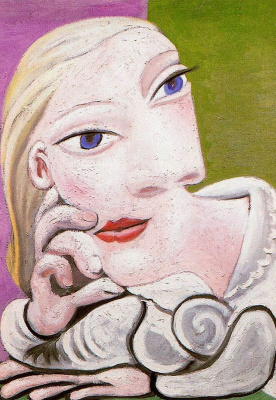 Pablo Picasso. Leaning Maria Teresa