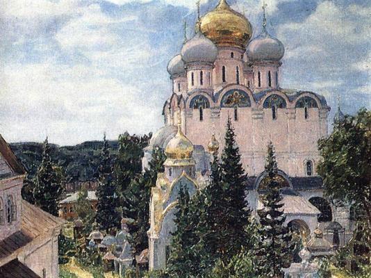 Apollinarius Mikhailovich Vasnetsov. Novodevichy convent