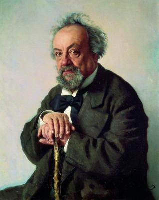 Ilya Efimovich Repin. Portrait of writer A. F. Pisemsky