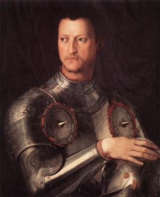 Agnolo Bronzino. Portrait of Cosimo I Medici