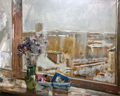 Валерий Валентинович Архипов. Осенние цветы.  2009