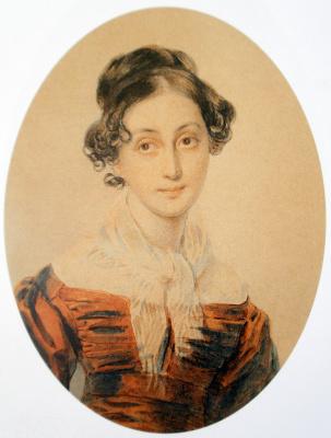 Петр Федорович Соколов. Анна Оленина 1825