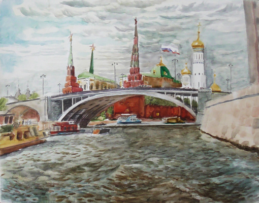 "Stepan Grudinin. ""The Kremlin"""