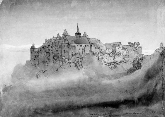 John Ruskin. Neuchatel Castle