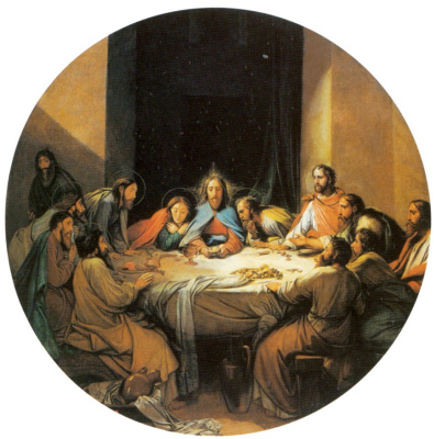 Fedor (Fidelio) Antonovich Bruni. The last supper