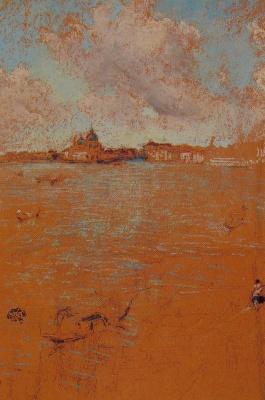 James Abbot McNeill Whistler. Venetian scene
