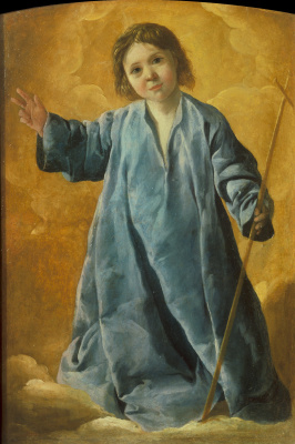 Francisco de Zurbaran. The Infant Christ