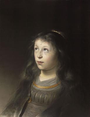 Jan Livens. Portrait of a girl
