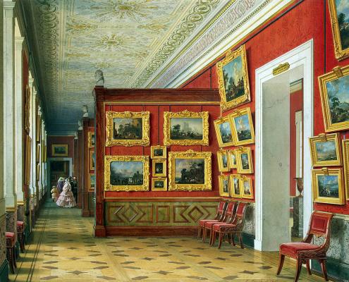 Луиджи Премацци. Галерея фламандской живописи