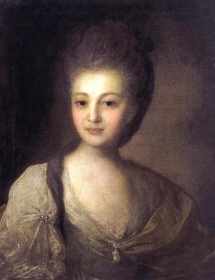 Fedor Stepanovich Rokotov. Portrait Of Alexandra Petrovna Struisky