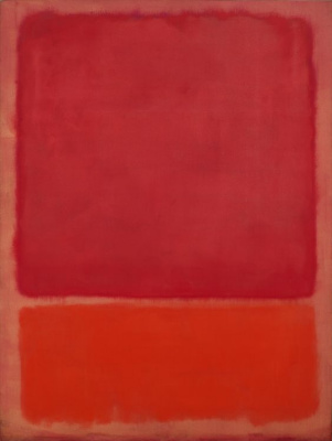 Rothko Mark. Untitled (Red, orange)