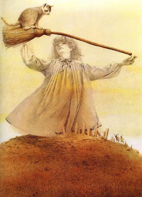 Роберт Ингпен. Метла ведьмы