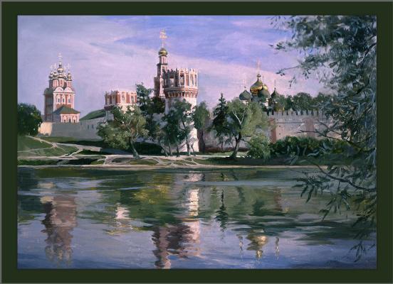 Sushienok64@mail.ru Михайлович Сушенок Игорь. Spring. Novodevichy Convent.