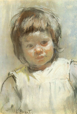 Lev Samoilovich Bakst (Leon Bakst). Portrait of Maria Markovna Klyachko, niece of the artist