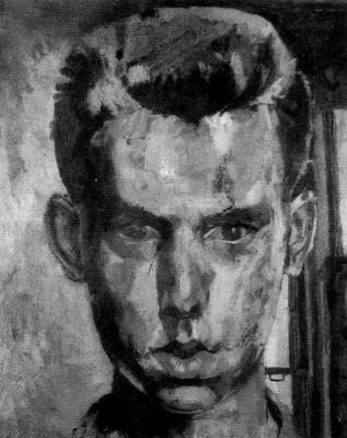 Питер Блейк. Мужской портрет