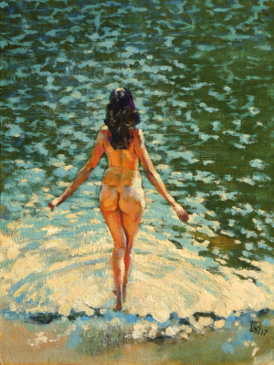 "Yuri Titov. ""Summer on the Lake"""