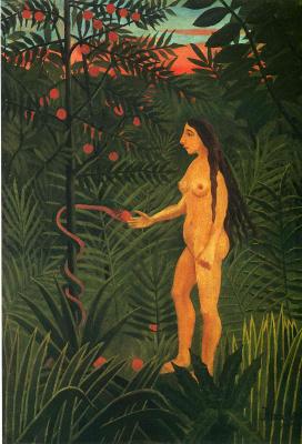 Henri Rousseau. Eva