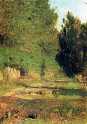 Isaac Levitan. At the grove