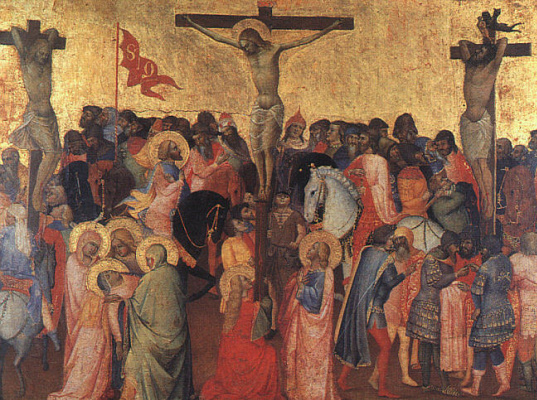 Taddeo Gaddi. The crucifixion