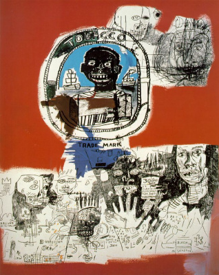 Jean-Michel Basquiat. Logo