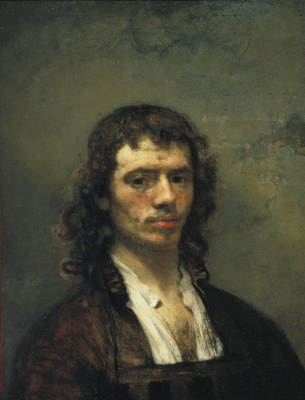 Karel Fabricius. Self-portrait
