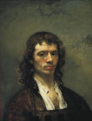 Karel Fabricius. Self-portrait