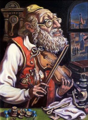 Daniil Litvinov. Скрипач