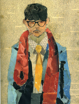 David Hockney. Self-portrait
