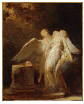 Jean Honore Fragonard. Sacrifice Roses