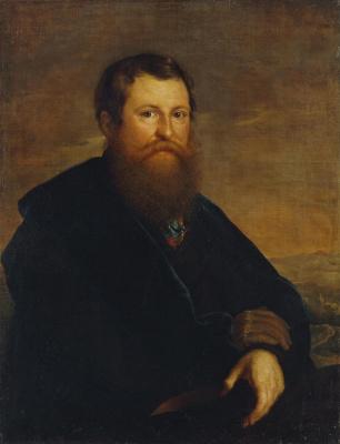 Vasily Andreevich Tropinin. Portrait of a merchant of Alexander Petrovich Sapozhnikov