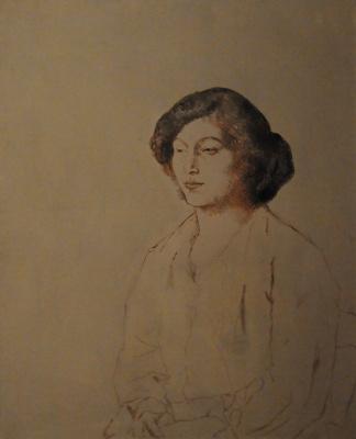 Пабло Пикассо. Портрет Фернанды Оливье