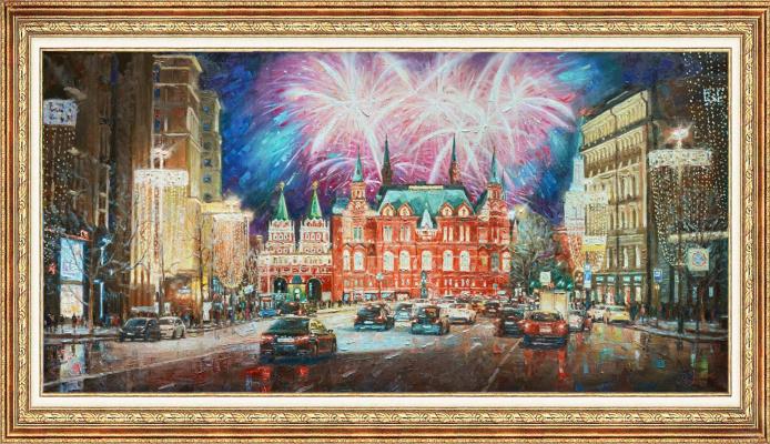 Igor Razzhivin. Capital in holiday lights